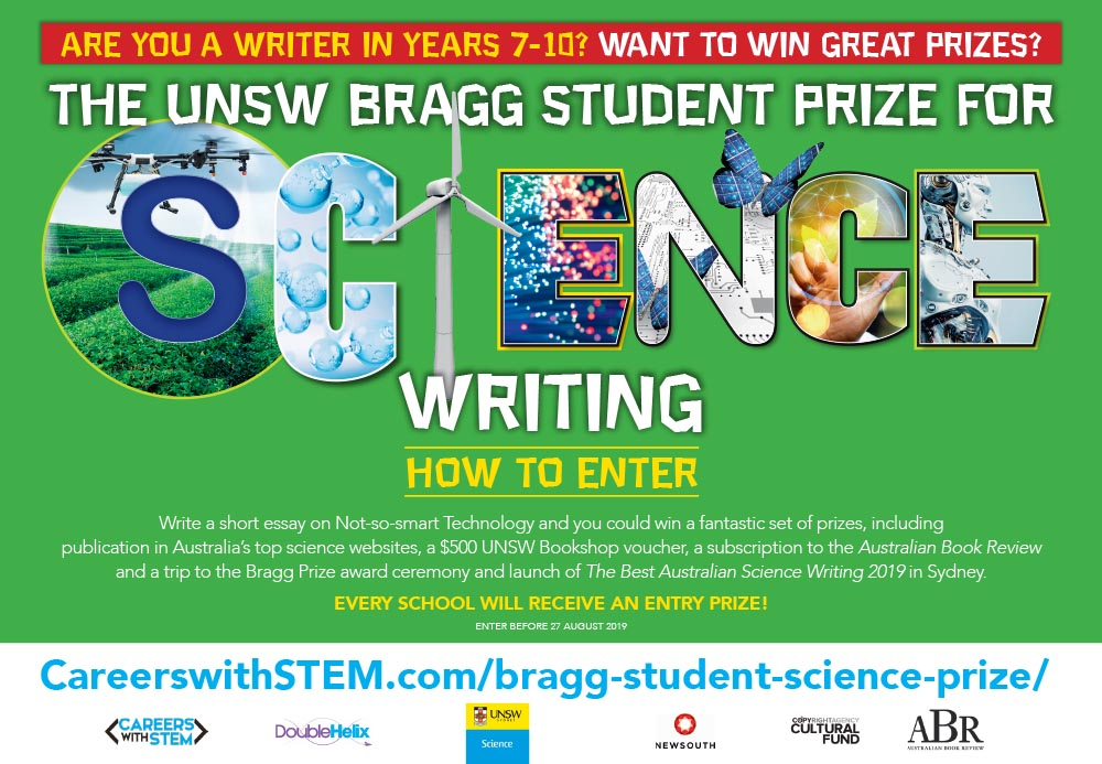 UNSW Bragg Student Prize for Science Writing
